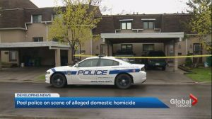 Officers probe alleged domestic homicide involving elderly couple in Brampton